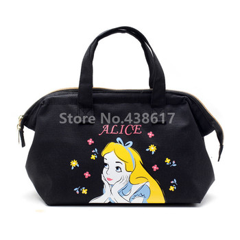 New Alice Little Mermaid Mickey Donald Tsum Tsum Chip Dale Insulated Lunch Tote Bag for Women Kids Lunch Box Thermal Cooler Bags