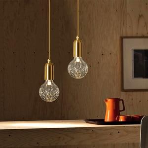 Image 3 - Modern Minimalist Vintage Wine Bottle Pendant Lights Caferoom/bar Lamp Single Glass Pendant Lamps Decoration Indoor Lighting E27
