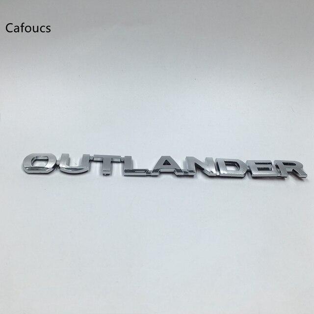 Cafoucs Car Accessories For Mitsubishi Outlander Rear Emblem Logo