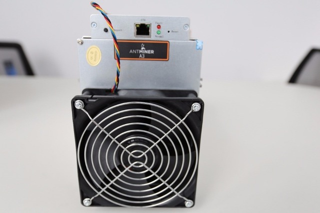 KUANGCHENG sale the Blake(2b) Siacoin ASIC Miner Antminer A3 815GH/s (1275W on wall) with PSU high profit from Bitmain 4