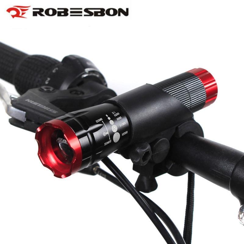 Велоспорт Q5 LED Велосипедные фары Запасные Аккумуляторы для телефонов Водонепроницаемый велосипед света Детская безопасность Предупрежден...