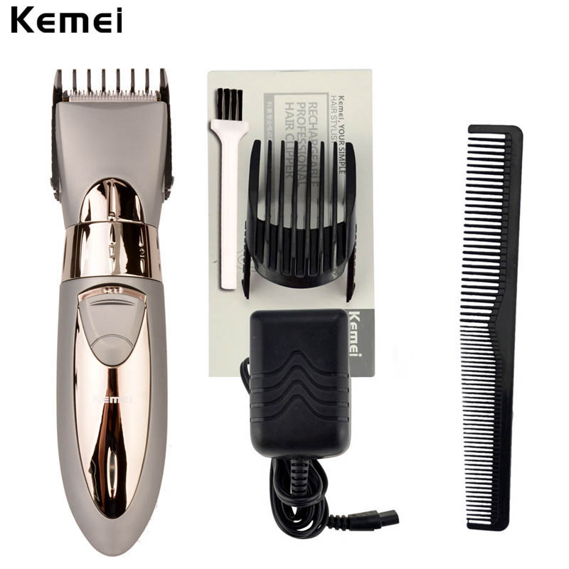 new rechargeable beard hair clipper electric hair trimmer. Black Bedroom Furniture Sets. Home Design Ideas