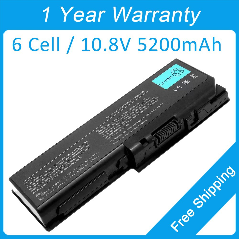 New 6 cell 5200mah laptop <font><b>battery</b></font> for <font><b>toshiba</b></font> <font><b>Satellite</b></font> Pro P200 <font><b>L350</b></font> P300 PABAS101 PABAS100 PA3537U-1BRS PA3536U-1BAS image
