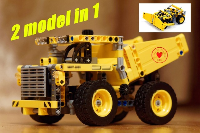 NEW ARRIVAL DECOOL 3353 technic Mining Truck Model Kit model ...