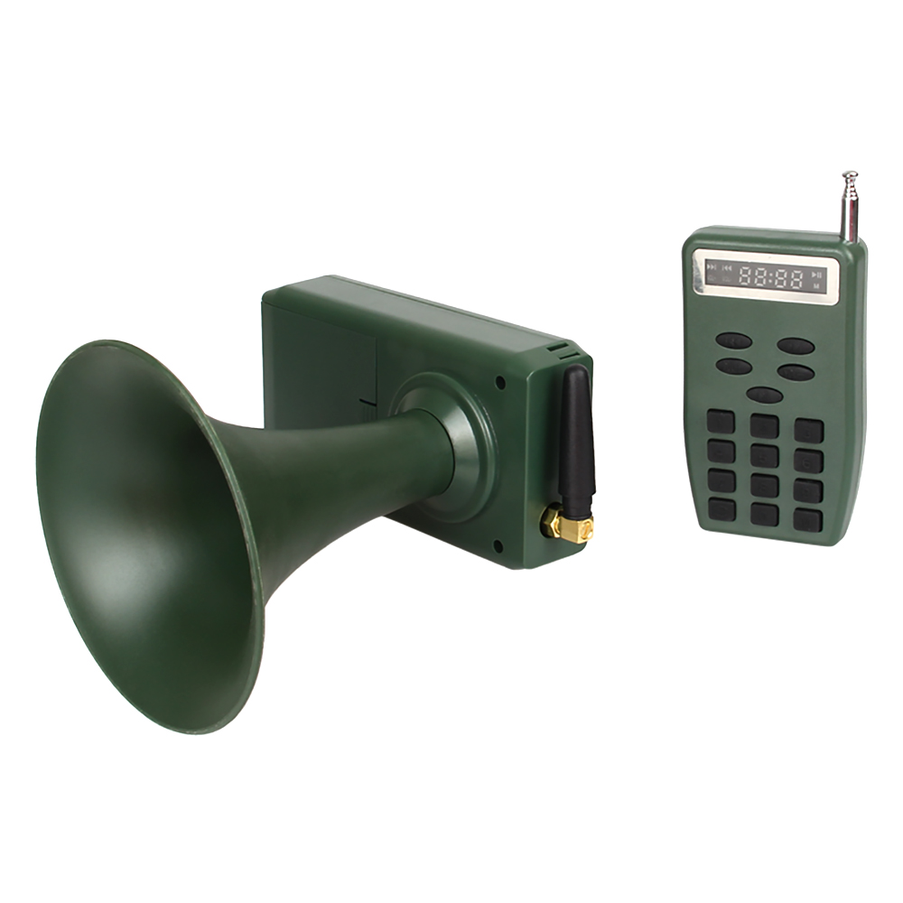 PDDHKK 35W 130dB With 110 Sounds Hunting Wildlife Sounds Callers Bird Decoy 200 Meters Remote Control Timer OFF And ON functionPDDHKK 35W 130dB With 110 Sounds Hunting Wildlife Sounds Callers Bird Decoy 200 Meters Remote Control Timer OFF And ON function