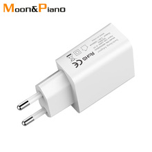 5V2A USB Wall Charger EU Adapter Plug Travel In Europe France Spain Mobile Phone For iphone X/8/7/7S/6/6S/5s/5c/SE Samsug s8 s9