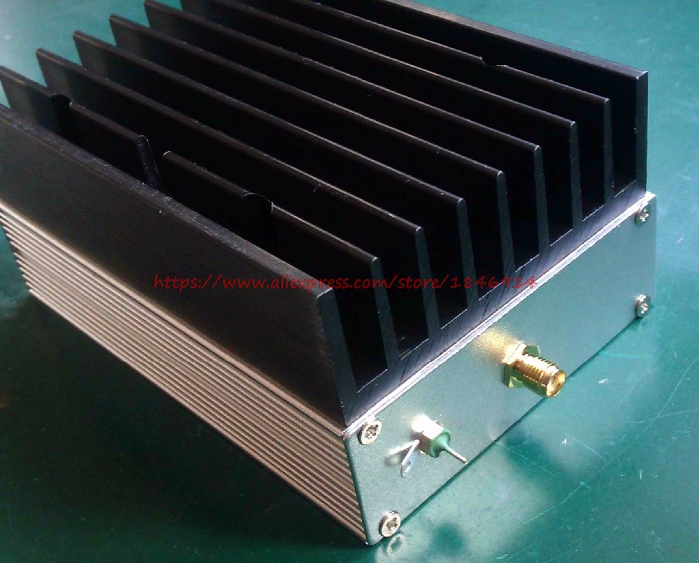 Ultra Wideband RF Amplifier Short Wave Amplifier Linear Amplifier 1MHz--130MHz 6W 43dB