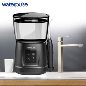 Image 3 - Waterpulse V700P With 8pcs Jet Tips 1000ml Capacity Water Dental Oral Flosser Oral Irrigator Traveler Floss Portable Flosser