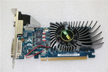 Used,2pcs/lot original ASUS  GT530 2G half-height card HD video card,100% tested good!