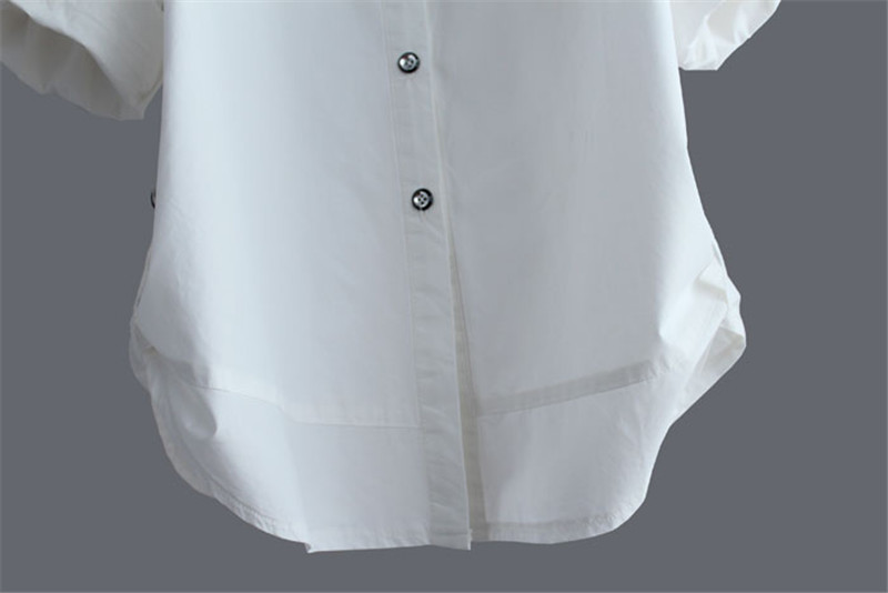 Cotton Shirt Camisa Women 16