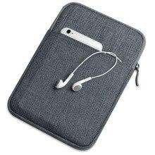 De Nylon A Prueba de Golpes Tablet Sleeve Bolsa del bolso del Caso para Apple iPad Mini 1 2 3 para el ipad 2 para el ipad Aire Pro 9.7 Caso de la Cubierta Capa Para