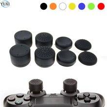 YuXi אנלוגי מקל ג ויסטיק אוחז נוסף גבוהה שיפורים כיסוי Caps עבור סוני פלייסטיישן Dualshock 4 PS4 בקר Gamepad