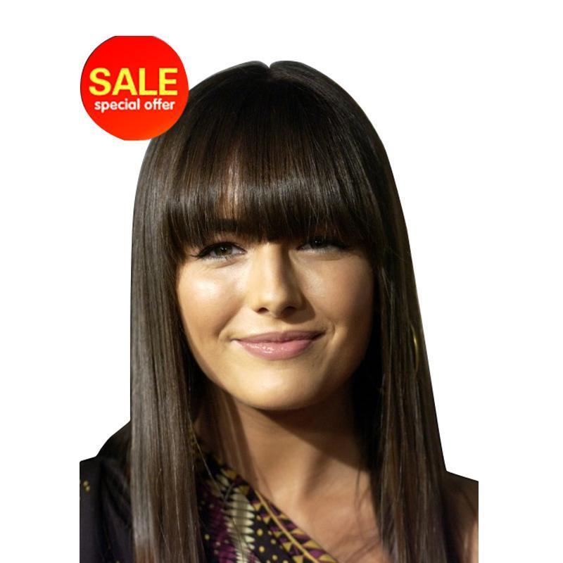2017 Promotion 130 Silk Top Lace Wigs H9 Natural Black Human font b Hair b font