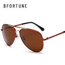 BFORTUNE Piloto Gafas de Sol Hombres Diseñador de la Marca Classic Gafas de Sol Polarizadas de La Vendimia Retro UV400 Gafas de Sol Gafas Masculino