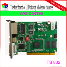 wholesale TS802 rgb full color synchronous led display controller/linsn sending card