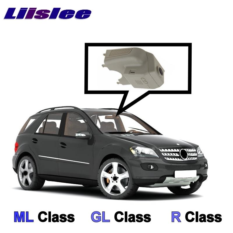 LiisLee Voiture Fiche WiFi DVR Dash Caméra Vidéo Enregistreur Pour Mercedes Benz ML M GL R Classe MB W164 x164 W251 2005 ~ 2012