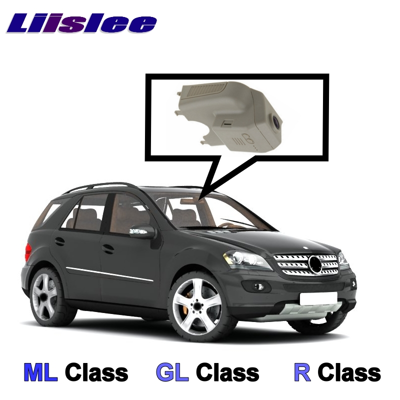 LiisLee автомобиля запись Wi-Fi DVR тире Камера вождения видео Регистраторы для Mercedes Benz ML GL R Class MB W164 X164 W251 2005 ~ 2012