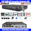 Freeship 8CH 1080P HD Realtime Onvif POE Network Video Recorder 8ch CCTV Security HDMI P2P IP