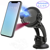 Fast Qi Wireless Car Charger Automatic Sensor Car Mount Air Vent Phone Holder Stand Cradle For iPhone 8/8 Plus/X Samsung S8 S9