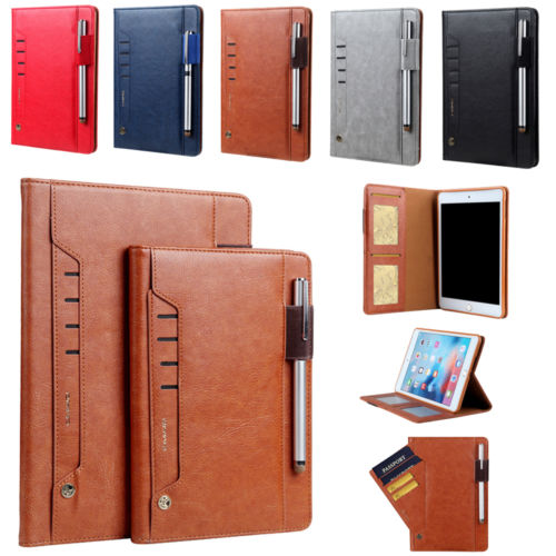 Retro Multifunction Leather Case For Samsung Galaxy Tab S3 T820 T825 9.7 Inch Business Stand Card Smart Cover For Samsung Tab S3