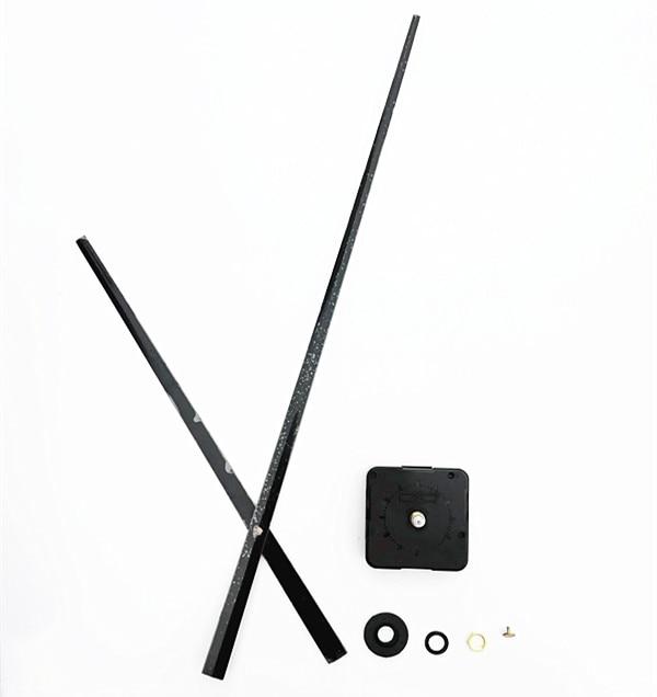 100Pcs Sweep Giant Pointer Diy Quartz Clock Mechanism Motion Restore Kits With Three Colours Clock Arms