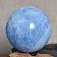 5-10cm natuurlijke blauwe celestine Crystal Bol van Madagascar voor verkoop
