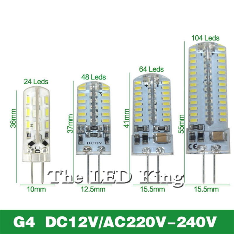 led light g9 g4 ac dc 12v led bulb e11 e12 14 e17 g8 dimmable lamps