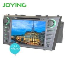 """Joying 1024*600 Doble 2 Din Quad Core 8 """"5.1.1 androide de DVD Del Coche de Navegación GPS Para Toyota Camry 1024*600 HD Unidad Principal Estéreo Del Coche"""