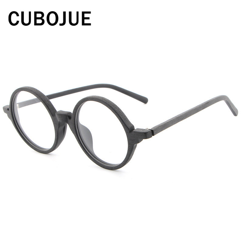 Cubojue vintage Gafas hombres mujeres pequeño Cara acetato Marcos ...