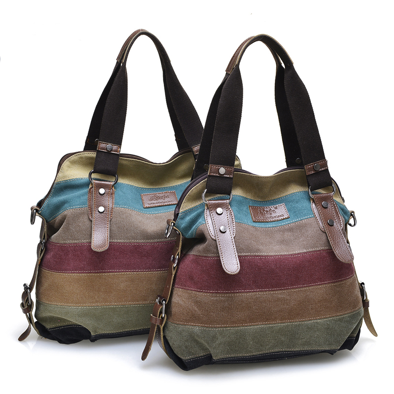 Divat Patchwork vászon táskák válltáska Női nagy alkalmi női táska ... 9be3a36e86