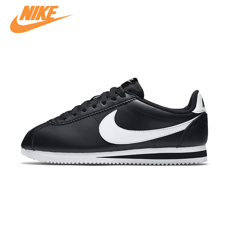 Original New Arrival Official Nike Classic Cortez Waterproof Women's Running Shoes Sports Sneakers Trainers стоимость