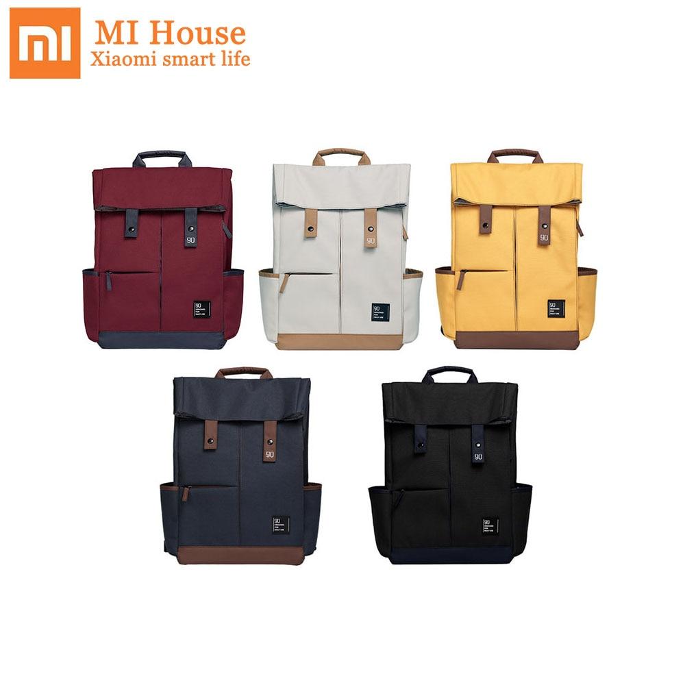 Xiaomi 90fen 90fun Backpack Ipx4 Water Repellent 13L Large Capacity Knapsack Men Women Fashion Casual 14