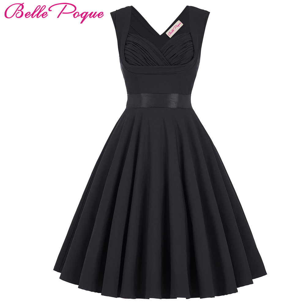 Women Cute Casual Retro Dresses Summer Autumn Brief Style Pinup Swing Dress Hot Sale Short Wedding