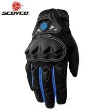 De SCOYCO Motocross Off-Road Racing Profesional Equipo de Protección Completo Dedo Guantes de Moto Guantes de Equitación Al Aire Libre Deportes Guantes