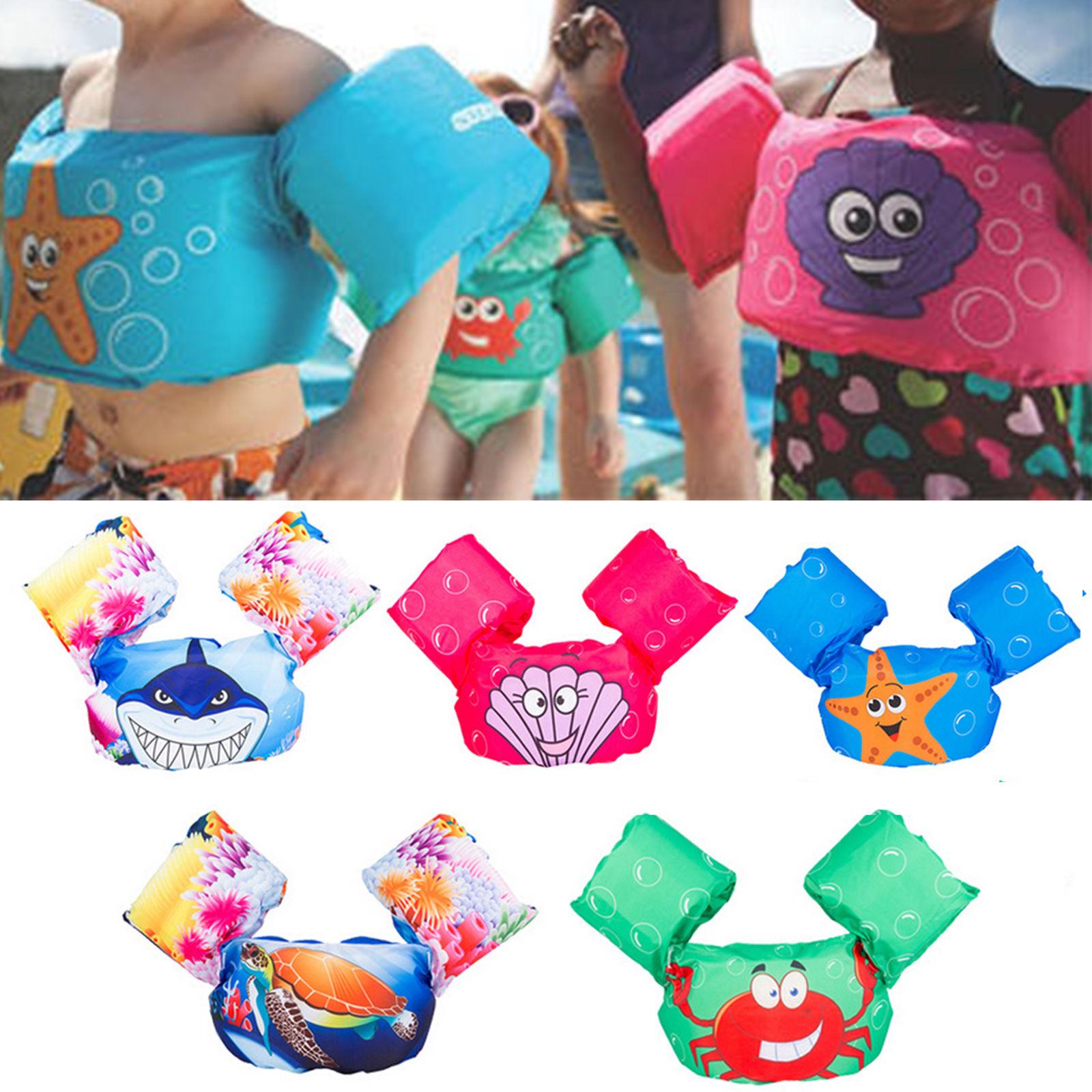 Schwimm- & Rettungswesten Puddle Jumper Schwimmen Deluxe Schwimmweste Sicherheitsweste Für Kinder Baby Spielzeug
