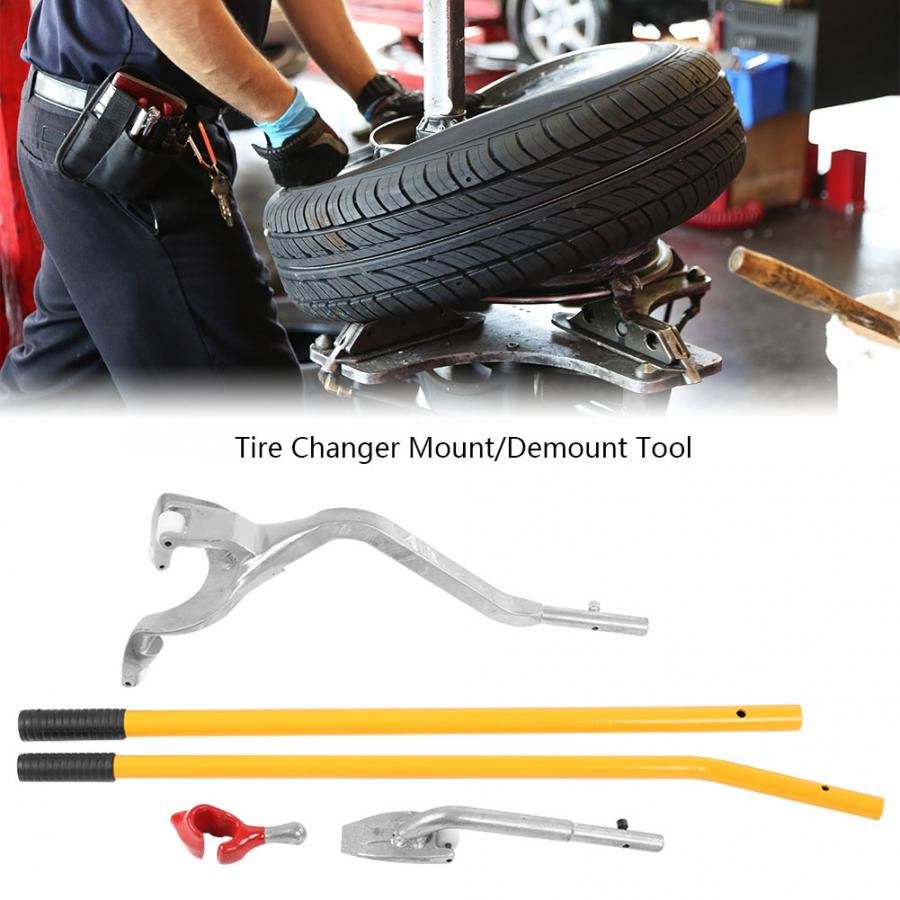 Oversea 3Pcs Aluminum Car Wheel Tire Changer Tire Mount Demount Dismount Repair Tools Kit(China)