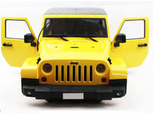 Yellow 1:10 RC Model Climbing Car Body Shell For RC Car Model Accessory