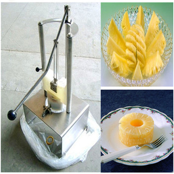 Pineapple barrel peeling coring machine pineapple peeler corer stainless steel manual pineapple cutting machine ZF|machine cutting|machine machine|machine manual -