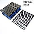 18650 8*13 suporte plástico da bateria 13s8p e níquel 8p13s suporte da bateria + níquel para 13 s 8 p 48 v 20ah bateria de íon de lítio