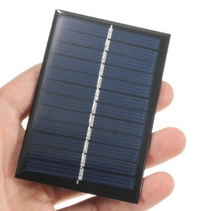 Image 1 - 6V 0.6W Panel słoneczny Panel na energię słoneczną Poly moduł DIY mała ładowarka telefonu komórkowego na lekki telefon zabawka przenośna Drop Shipping