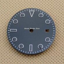 28,5 мм/31,5 мм Стерильная черная Φ Mingzhu 2813/3804, часы серии Miyota 82