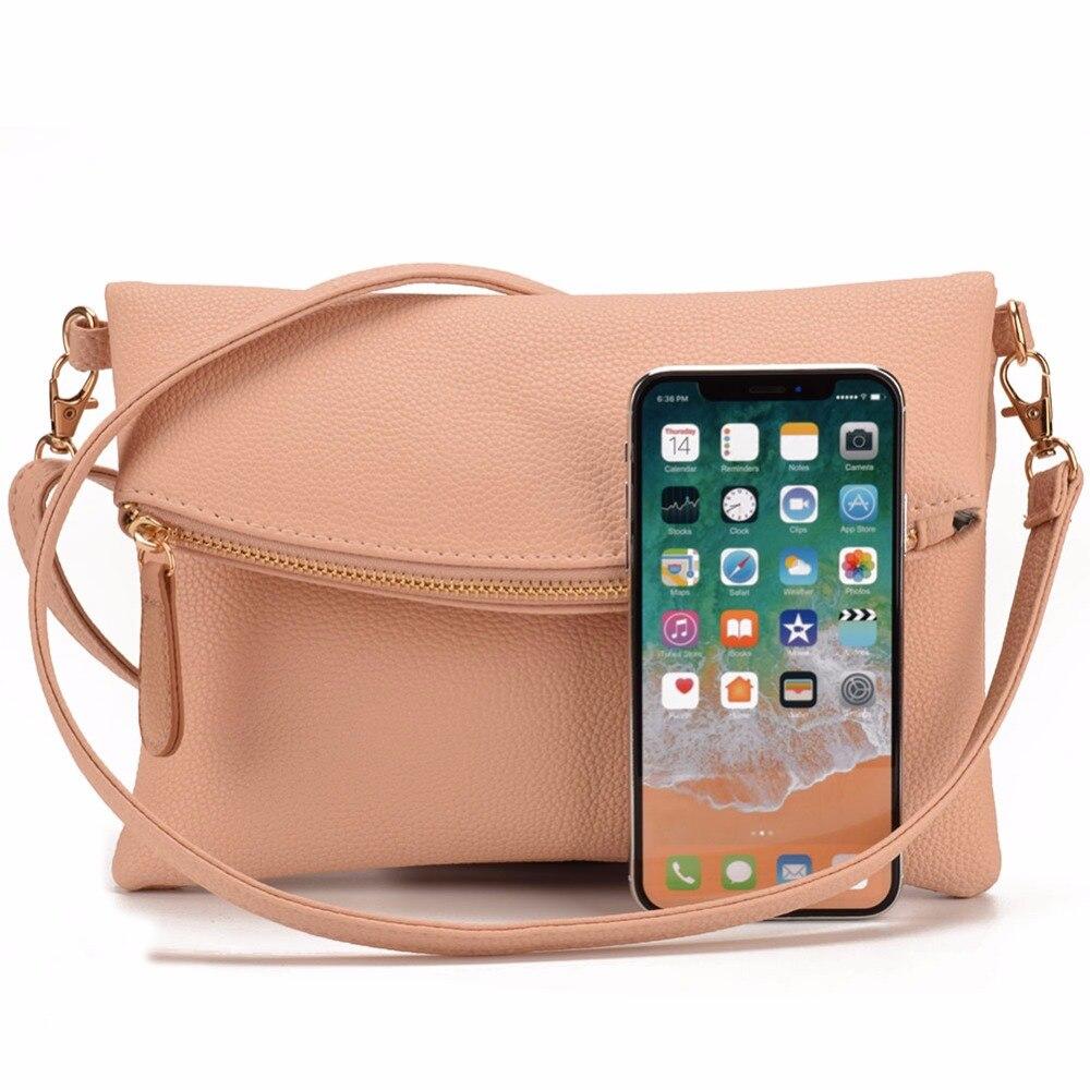 f3cd30463054 JIARUO Small Leather Crossbody Bag For Women Messenger Bag Shoulder ...