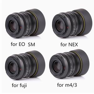 Image 1 - Kamlan Lens 50 Mm F1.1 APS C Grote Diafragma Handmatige Focus Lens Voor Canon EOS M Nex Fuji X M4/3 camera S Met Zonnekap