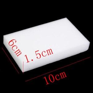 Image 4 - 100 Pcs Groothandel White Magic Sponge Eraser Melamine Cleaner,multi Functionele Cleaning 100X60X20 Mm 50 Stuks