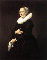 Portrait Of A Woman Dutch Golden Age Frans Hals TOP art oil painting handpainted replica free shipping cost