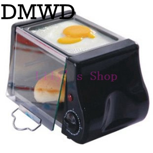 Multifunction mini electric Baking Bakery roast Oven grill fried eggs Omelette frying pan breakfast machine bread maker Toaster stainless steel household portable electric toaster breakfast machine automatic bread baking maker fried eggs boiler frying pan
