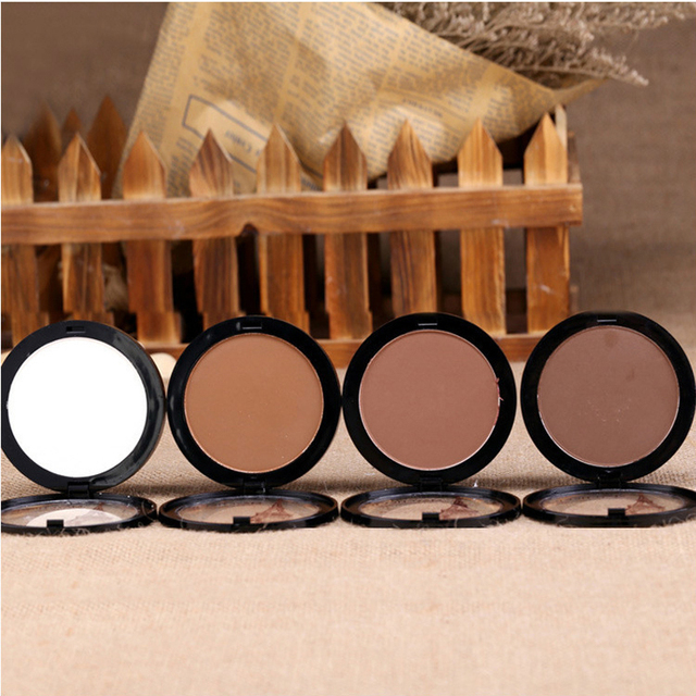 Dark Skin Cosmetic Bronzer Blush Makeup Brightener Matte Minerals Whiten Highlighting Face Powder Bronzer Contouring Makeup 2
