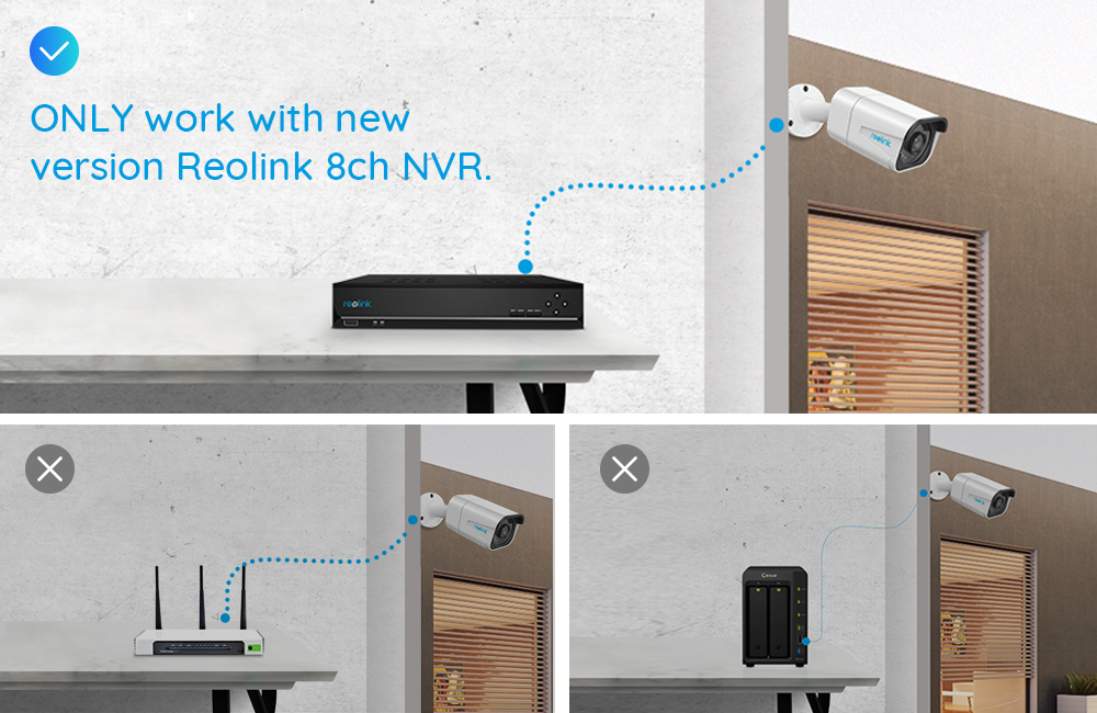 Reolink 4K IP Nightvision PoE 8MP Outdoor Security Camera 14