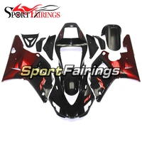 ABS Plastic Full Fairings For Yamaha 1998 1999 YZF1000 R1 98 99 Motorcycle ABS Injection Fairing Kit New Black Red Bodywork Hull