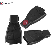 KEYYOU 2/3/4 Buttons Remote Key Fob Case Cover For Mercedes Benz B C E ML S CLK CL
